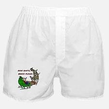 Dear Santa - Adult Printing Boxer Shorts
