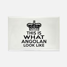 Angolan Look Like Designs Rectangle Magnet