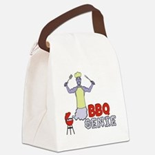 Cool Bbq smoking Canvas Lunch Bag