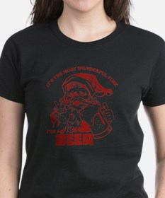 Unique Christmas beer Tee