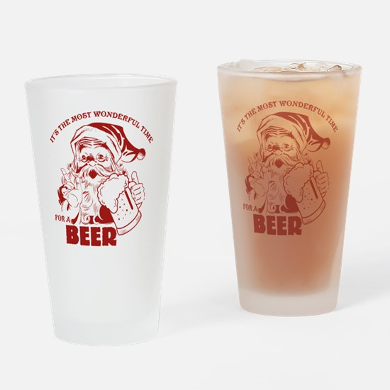 Cute Lager Drinking Glass