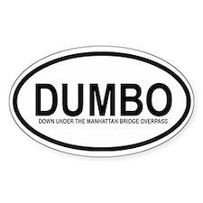 DUMBO Oval Decal