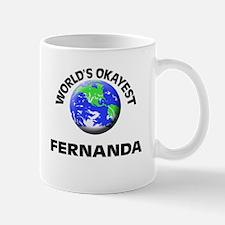World's Okayest Fernanda Mugs