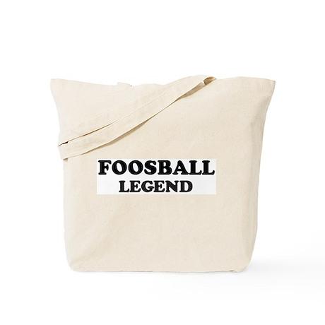 FOOSBALL Legend Tote Bag