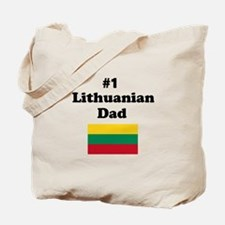 #1 Lithuanian Dad Tote Bag
