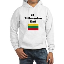 #1 Lithuanian Dad Hoodie