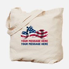 Personalize It, Motorcycle Tote Bag