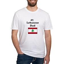 #1 Lebanese Dad Shirt