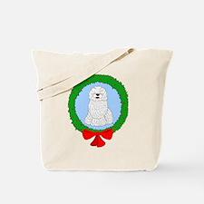 Komondor Christmas Tote Bag