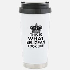 Belizean Look Like Desi Travel Mug