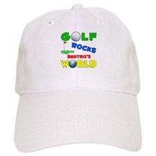 Golf Rocks Beatriz's World - Baseball Cap