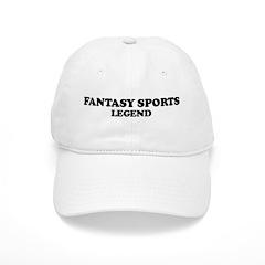 FANTASY SPORTS Legend Baseball Cap