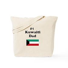 #1 Kuwaiti Dad Tote Bag