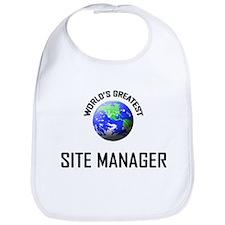 World's Greatest SITE MANAGER Bib
