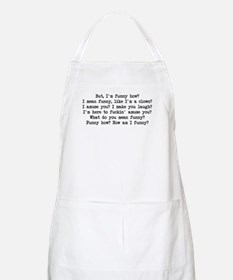 Funny How 2 BBQ Apron