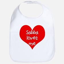 Sabba White Bib