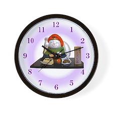 Cool Manekineko Wall Clock