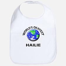 World's Okayest Hailie Bib