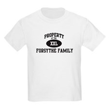 Property of Forsythe Family T-Shirt