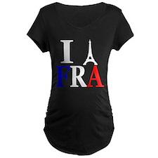 I Eiffel Tower France T-Shirt