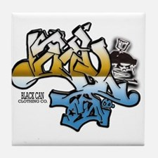 Cute Grafitti Tile Coaster