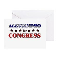 ALESSANDRO for congress Greeting Card