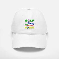 Golf Rocks Cleveland's World Baseball Baseball Cap