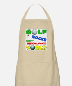Golf Rocks Brooklynn's World  BBQ Apron
