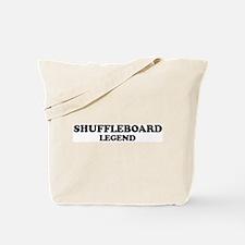 SHUFFLEBOARD Legend Tote Bag