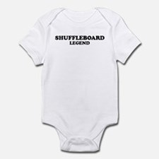 SHUFFLEBOARD Legend Infant Bodysuit