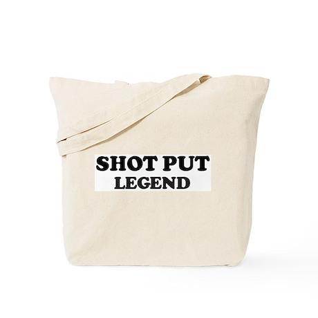 SHOT PUT Legend Tote Bag