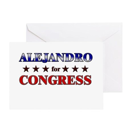 ALEJANDRO for congress Greeting Card