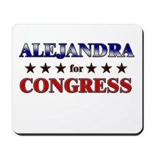 ALEJANDRA for congress Mousepad