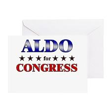 ALDO for congress Greeting Card