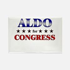 ALDO for congress Rectangle Magnet