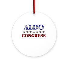 ALDO for congress Ornament (Round)