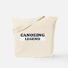CANOEING Legend Tote Bag