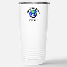 World's Okayest Itzel Stainless Steel Travel Mug