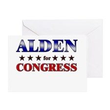 ALDEN for congress Greeting Card