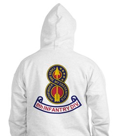 8th Infantry Division<BR> Hooded Shirt 1