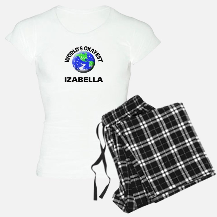 World's Okayest Izabella pajamas
