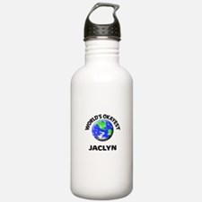 World's Okayest Jaclyn Water Bottle