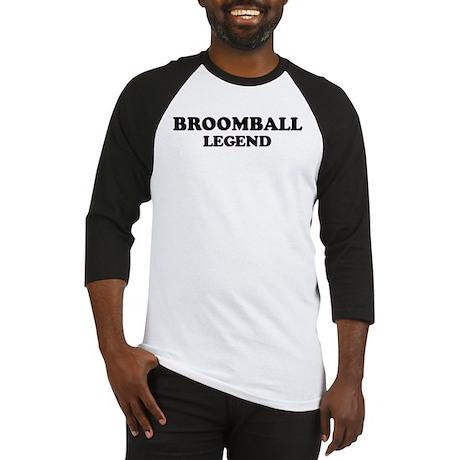 BROOMBALL Legend Baseball Jersey