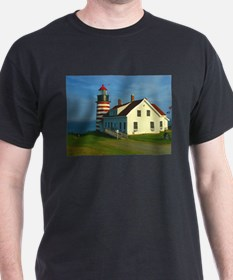 West Quoddy Head Light T-Shirt