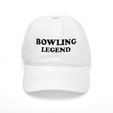 BOWLING Legend Baseball Cap
