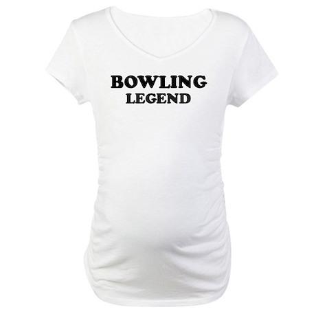 BOWLING Legend Maternity T-Shirt