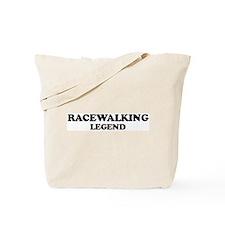 RACEWALKING Legend Tote Bag