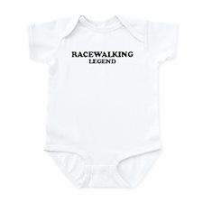 RACEWALKING Legend Infant Bodysuit