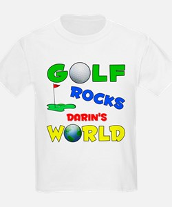 Golf Rocks Darin's World - T-Shirt