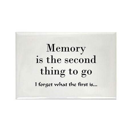 Memory Rectangle Magnet (100 pack)